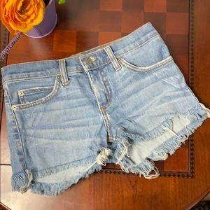 Juicy Couture Jeans Denim Cut-off Shorts